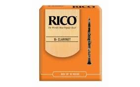 Rico Bb Clarinet Reeds Size 2 (10-pack)