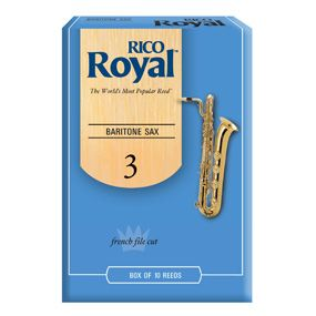 Rico Royal Baritone Sax Reed Size2 (10-pack)