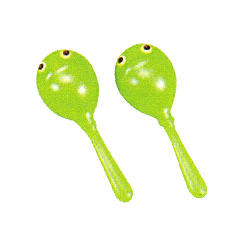 CPK Frog Maracas ED446