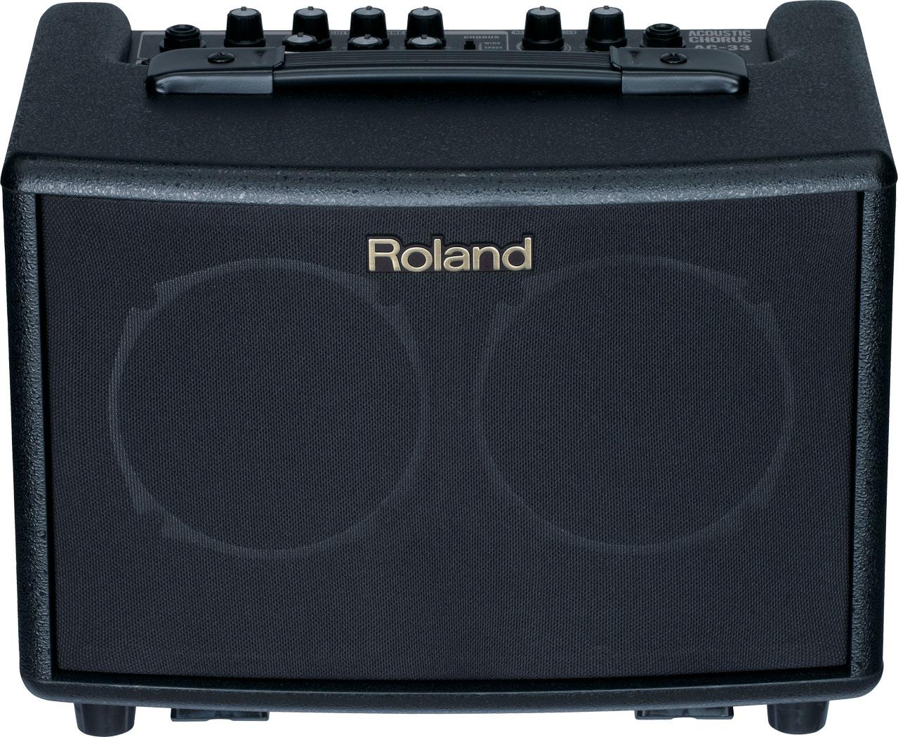 Roland AC33 Acoustic Chorus Guitar Amplifier (Black)