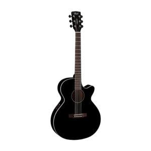 Cort SFX1F-BK Electric Acoustic Guitar (Black Gloss)