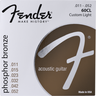 Fender Phosphor Bronze Strings