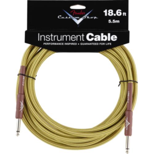 Fender Custom Shop Performance Cable 18.6ft Tweed
