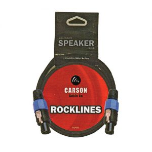 Carson RSN05 Speaker Cable 5 foot