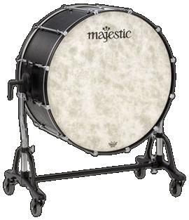 Majestic MCB3218 Concert Bass Drum