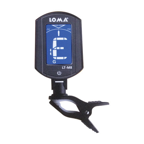 Loma LT-M8 Digital Clip on Chromatic Tuner