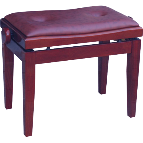 Piano Bench VB2032M Mahogany Gloss