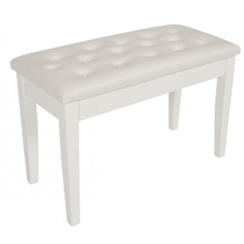 Piano Bench VB10313WH White Gloss