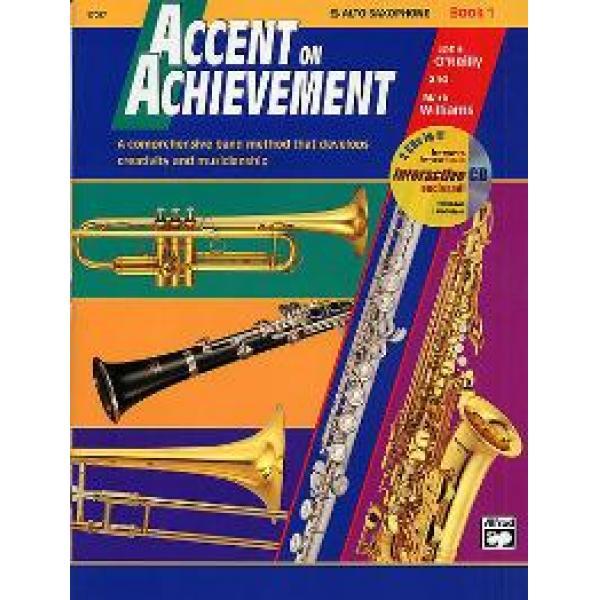 Accent on Achievements Book 1 Alto Saxophone