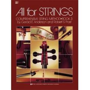 All for Strings Book 3 Cello