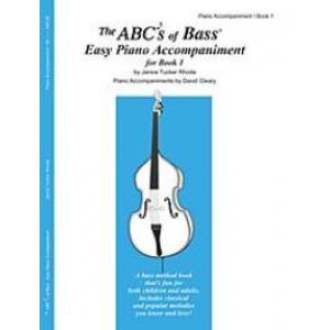 ABCs of Bass Book 1 Piano Accompaniment