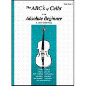 ABCs of Cello Book 1 Absolute Beginner BK/CD