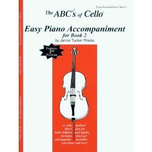 ABCs of Cello Book 2 Piano Accompaniment