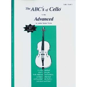 ABCs of Cello Book 3 Advanced