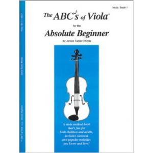 ABCs of Viola Book 1 Absolute Beginner