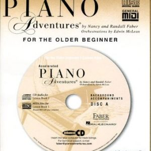 Accelerated Piano Adventures Book 1 Lesson CD