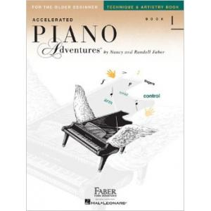 Accelerated Piano Adventures Book 1 Technique & Artistry