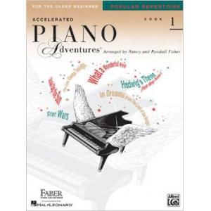 Accelerated Piano Adventures Book 1 Popular Repertoire