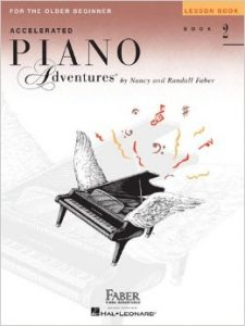 Accelerated Piano Adventures Book 2 Lesson