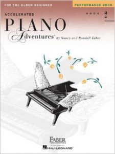 Accelerated Piano Adventures Book 2 Performance