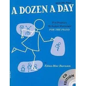 A Dozen a Day Prep Book & CD
