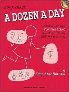 A Dozen a Day Book 3  & CD