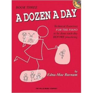A Dozen a Day Book 3  & CD