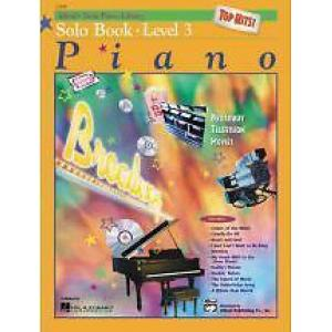 Alfreds Piano Top Hits Solo Level 3 with CD