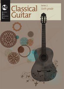 AMEB Classical Guitar Series 2 Grade 6