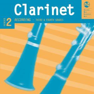 AMEB Clarinet Series 2 Grade 3 & 4 CD/NOTES