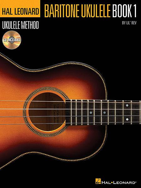 Hal Leonard Baritone Ukulele Method Book 1 & CD
