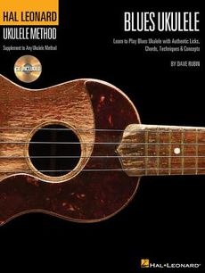 Hal Leonard Blues Ukulele Method Book 1 & CD