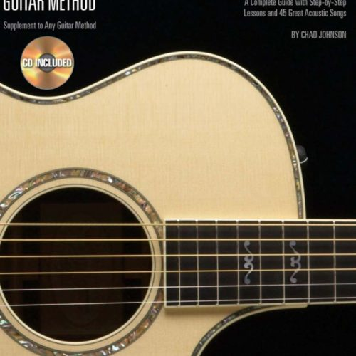 Hal Leonard Acoustic Guitar Method Book 1 & CD