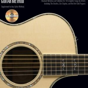 Hal Leonard Acoustic Guitar Songs Book  & CD