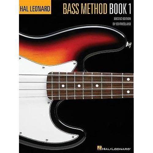 Hal Leonard Bass Method 2nd Ed Book 1