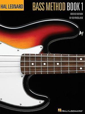 Hal Leonard Bass Method 2nd Ed Book 1