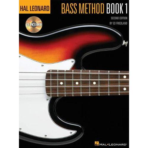 Hal Leonard Bass Method 2nd Ed Book 1 & CD