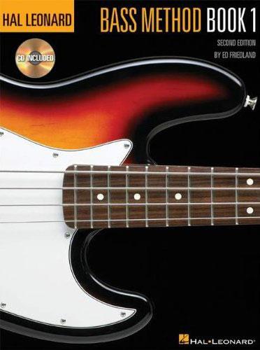 Hal Leonard Bass Method 2nd Ed Book 1 & CD