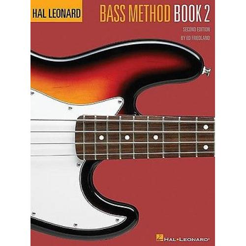 Hal Leonard Bass Method 2nd Ed Book 2