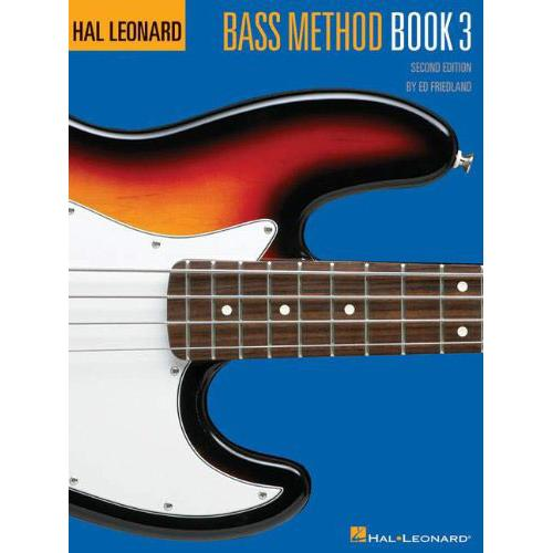 Hal Leonard Bass Method 2nd Ed Book 3