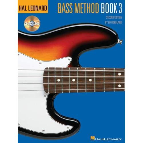 Hal Leonard Bass Method 2nd Ed Book 3 & CD
