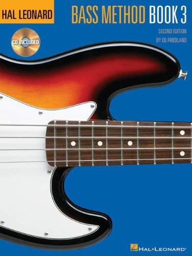 Hal Leonard Bass Method 2nd Ed Book 3 & CD