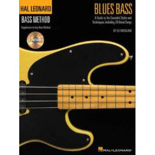 Hal Leonard Blues Bass Method Book & CD