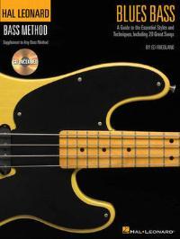 Hal Leonard Blues Bass Method Book & CD