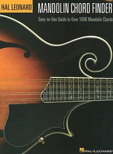 Hal Leonard Mandolin Chord Finder (6 x 9)