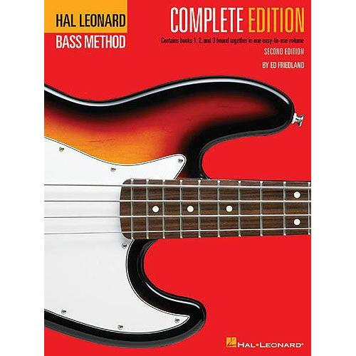 Hal Leonard Bass Method Complete Edition Book 1 to 3