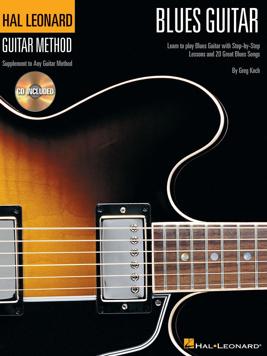 Hal Leonard Blues Guitar Method Book & CD