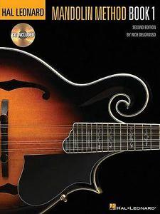 Hal Leonard Mandolin Method Book 1 & CD