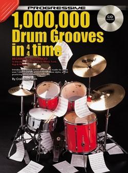 Progressive 1,000,000 Drum Grooves in 4/4 Time