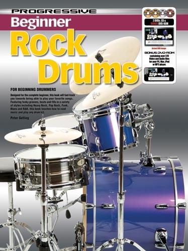 Progressive Beginner Rock Drumming